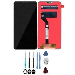 Ecran LCD & Vitre tactile Noir Assemblés Sans Châssis Pour